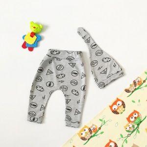 Spodnie hello + czapka dla chłopczyka 56-92 cm