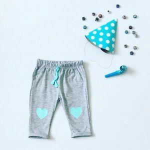 Spodnie serca dla dziewczynki 56-92 cm