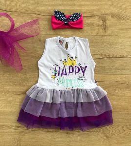 """Sukienka """"Happy Princess"""" dla dziewczynki 56-92 cm"""