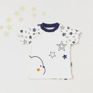 T-shirt stars dla chłopczyka 56-92 cm