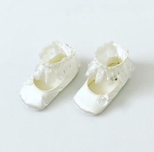 Buciki niemowlęce white dla dziewczynki