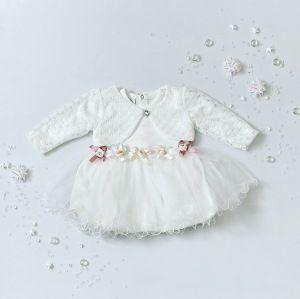 Sukienka White II dla dziewczynki 56-92 cm