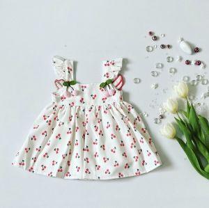Sukienka wisienka dla dziewczynki 56-92 cm