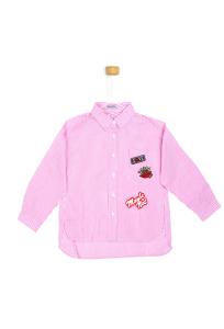 Koszula w biało różowe paseczki