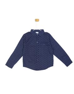 Granatowa koszula z kotwicą