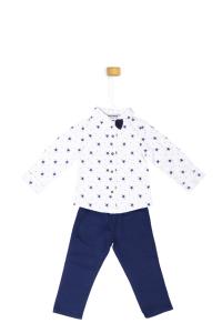Komplet - koszula w gwiazdki ze spodniami