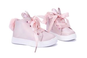 Różowe buciki króliczka