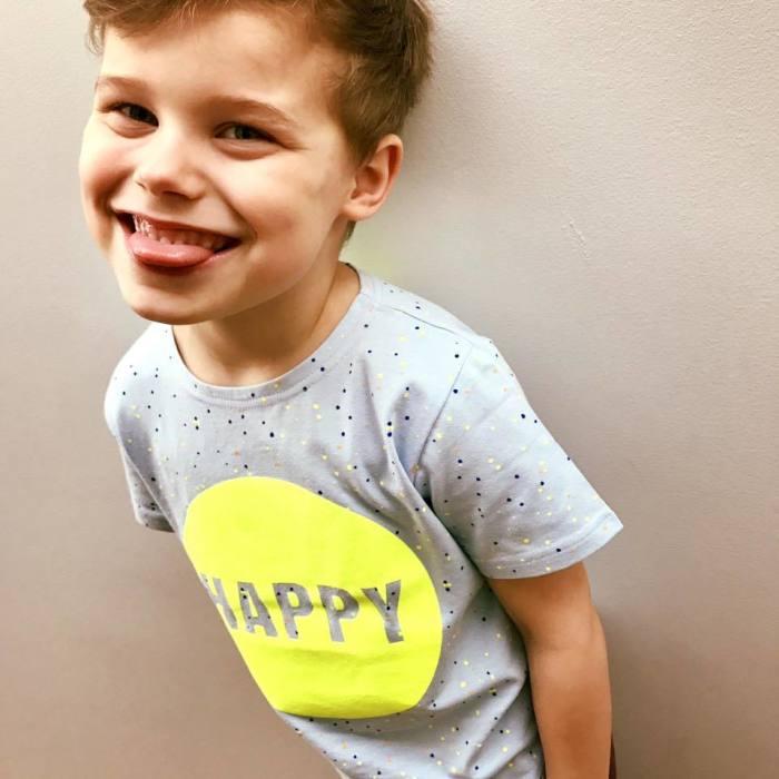 Koszulka z krótkim rękawkiem - happy