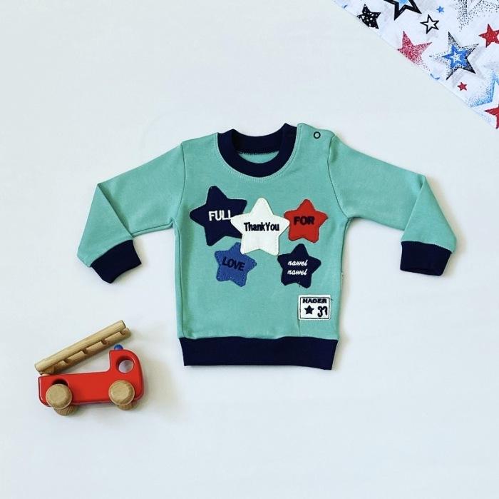 Bluza blue star dla chłopczyka 56-92 cm