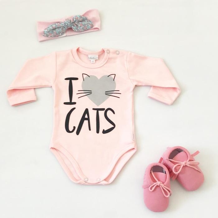 Różowe body cats