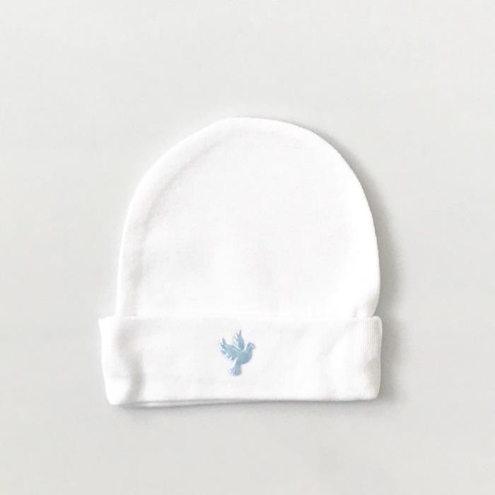 Biała czapeczka ptak