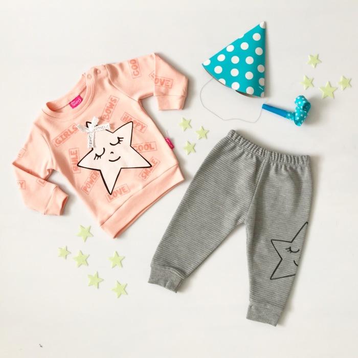 Komplet pink star