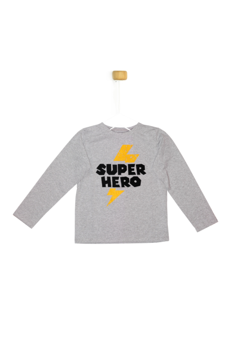 Bluzka z długim rękawem SUPER HERO