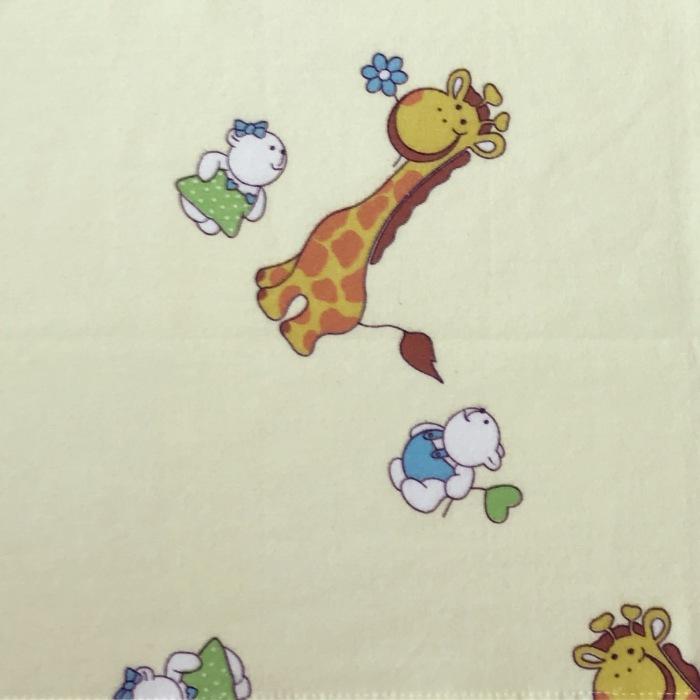 Pieluszka flanelowa - żyrafka