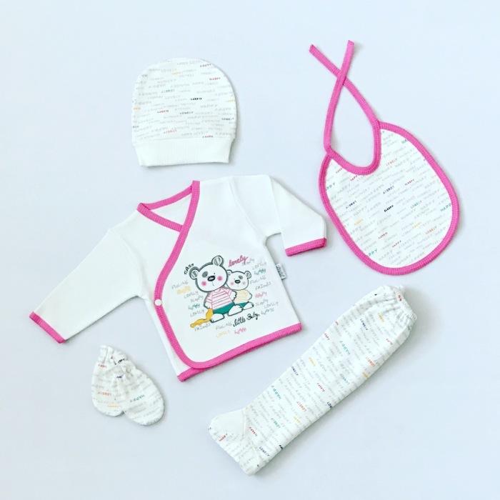 Pierwsza wyprawka niemowlęca lovely pink