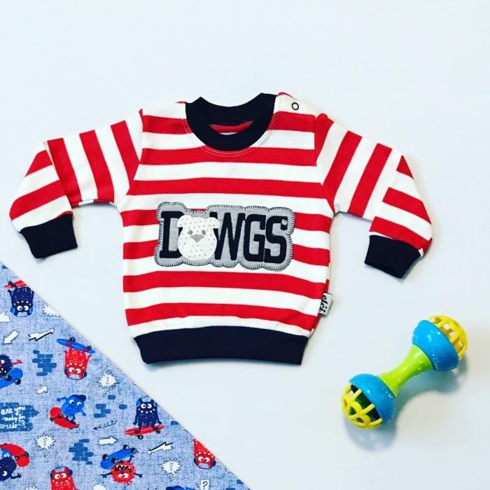 Bluza dowgs dla chłopczyka 56-92 cm