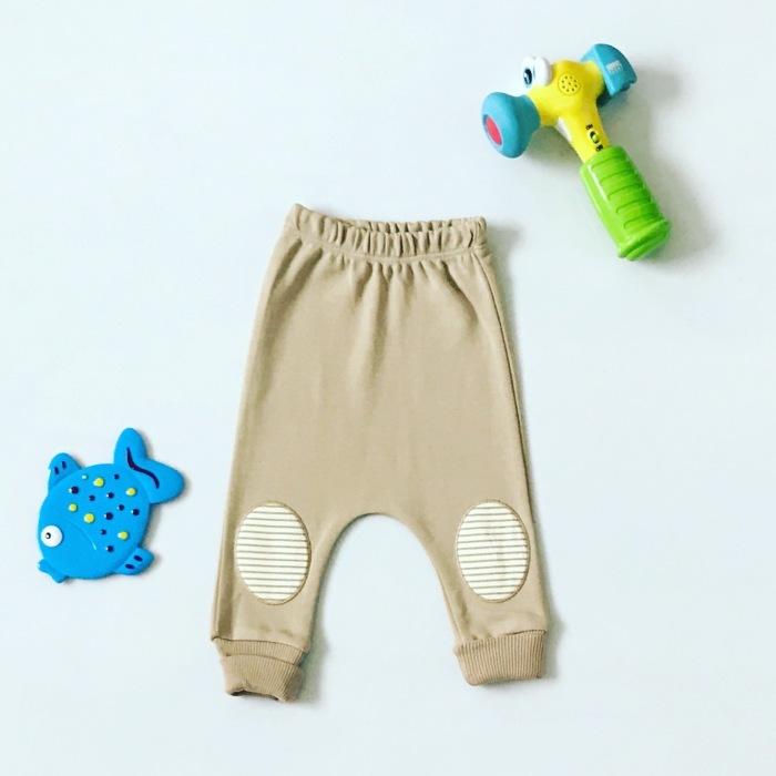 Spodnie naszywki dla chłopczyka 56-92 cm