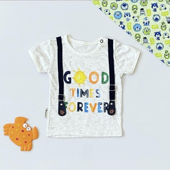 T-shirt good dla chłopczyka 56-92 cm