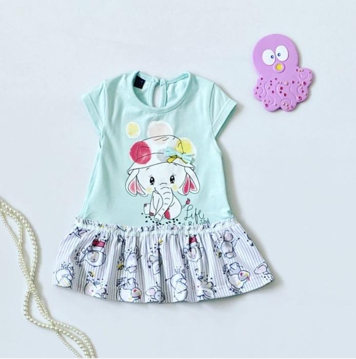 Sukienka elephant dla dziewczynki 56-92 cm