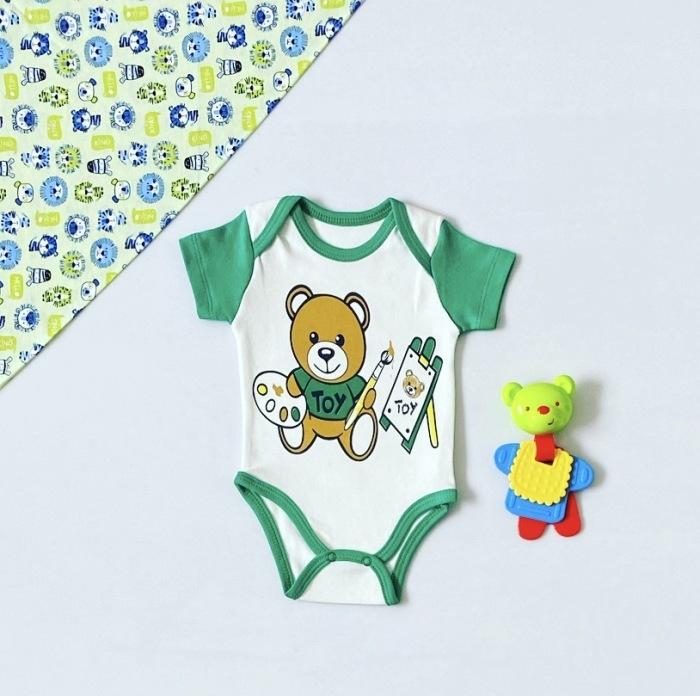 Body toy z krótkim rękawem dla chłopczyka 56-92 cm