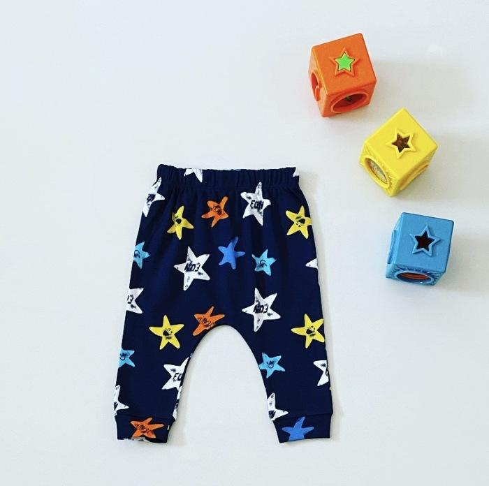 Spodnie blue stars