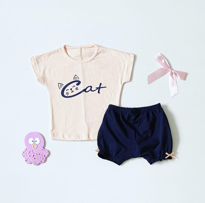 Komplet cat dla dziewczynki 56-92 cm