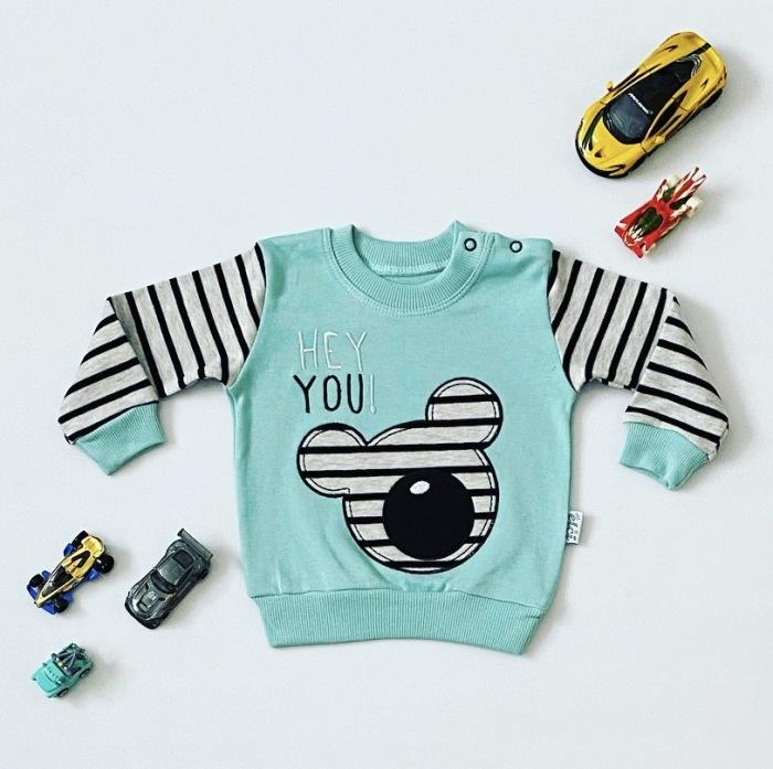 Bluza hey dla chłopczyka 56-92 cm