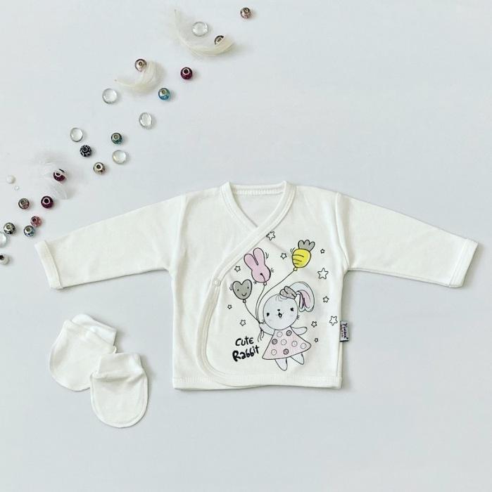 Bluzka rabbit + niedrabki