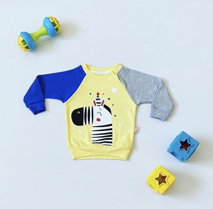 Bluza zebra dla chłopczyka 56-92 cm