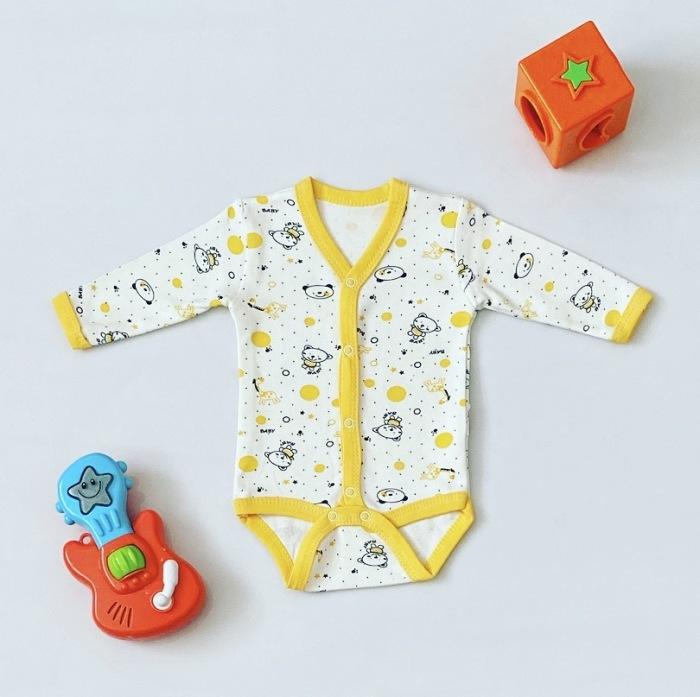 Body baby II z długim rękawem dla chłopczyka 56-92 cm