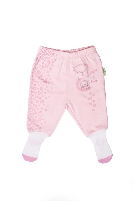 Półśpiochy różowe dla dziewczynki 56-92 cm