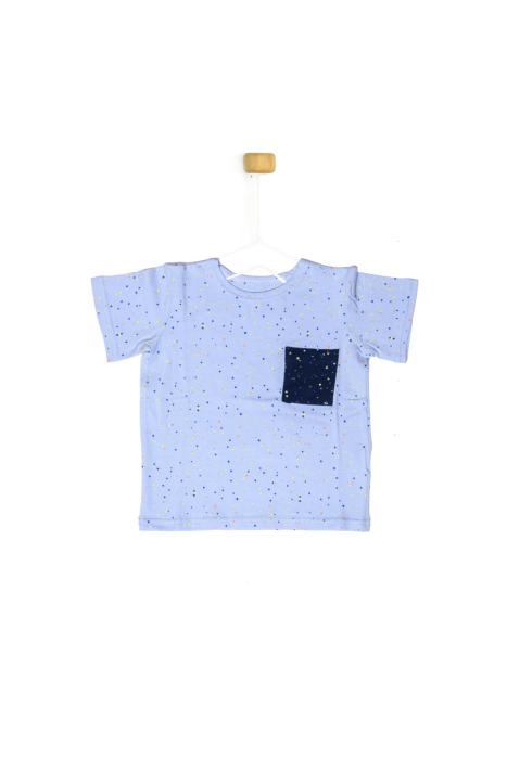 Koszulka z krótkim rękawem w kropeczki