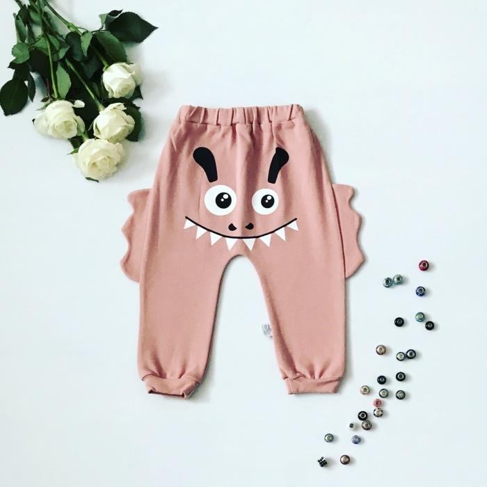 Spodnie pinki
