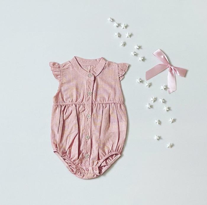 Body pinki z krótkim rękawem dla dziewczynki 56-92 cm