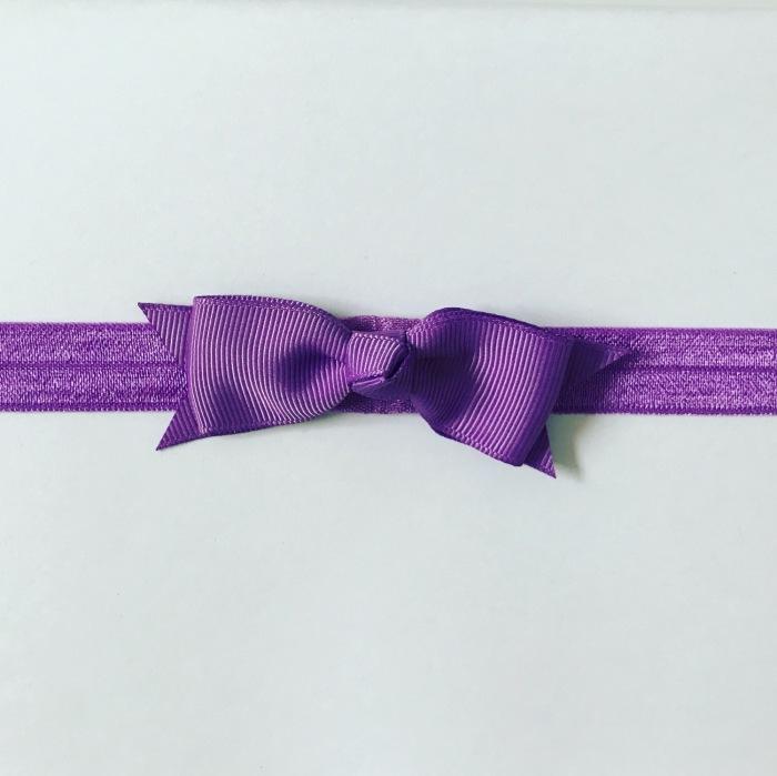 Opaska purple dla dziewczynki