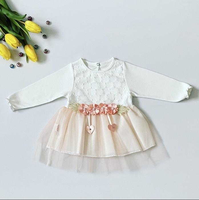 Sukienka serce dla dziewczynki 56-92 cm