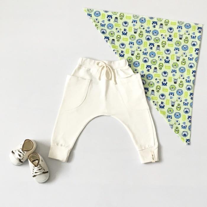 Spodnie kieszonka dla chłopczyka 56-92 cm