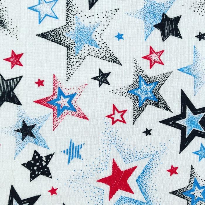 Pieluszka tetra - stars