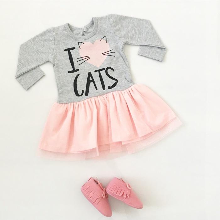 Sukienka Cats