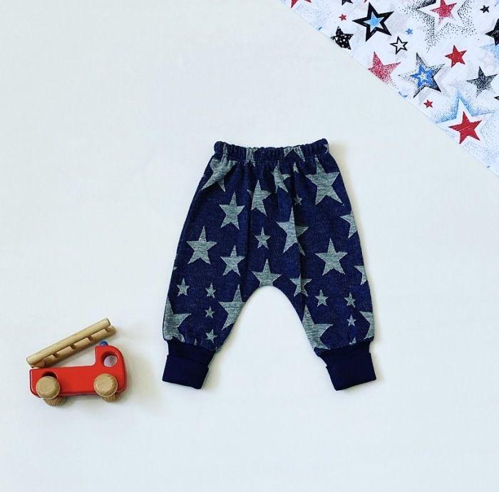 Spodnie blue star dla chłopczyka 56-92 cm