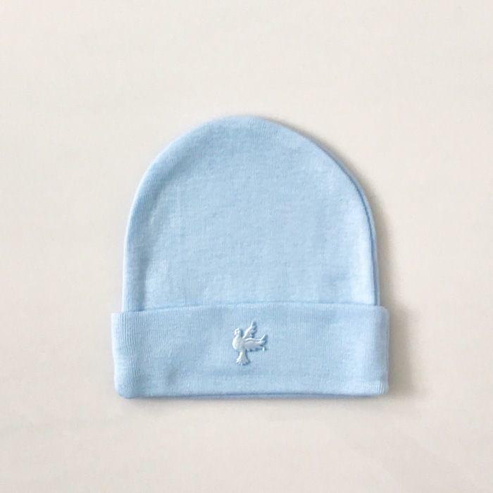 Błękitna czapeczka miś