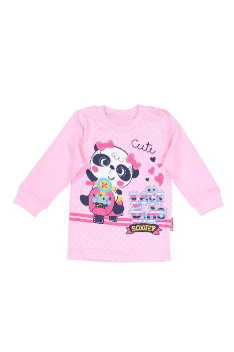 Bluzeczka z długim rękawem - Panda