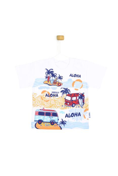 Koszulka z krótkim rękawem ALOHA