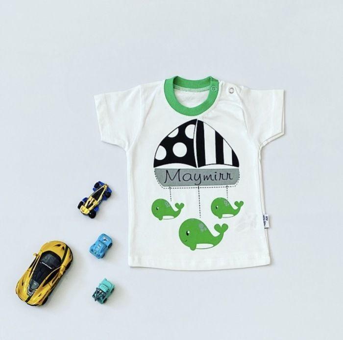 T-shirt green dla chłopczyka 56-92 cm