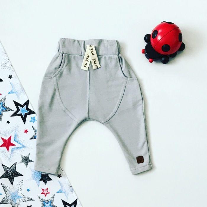 Spodnie grey dla chłopczyka 56-92 cm