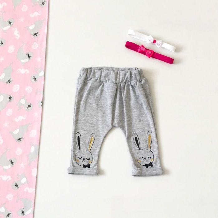 Spodnie bunny dla dziewczynki 56-92 cm