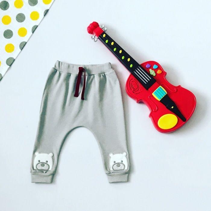 Spodnie miś dla chłopczyka 56-92 cm