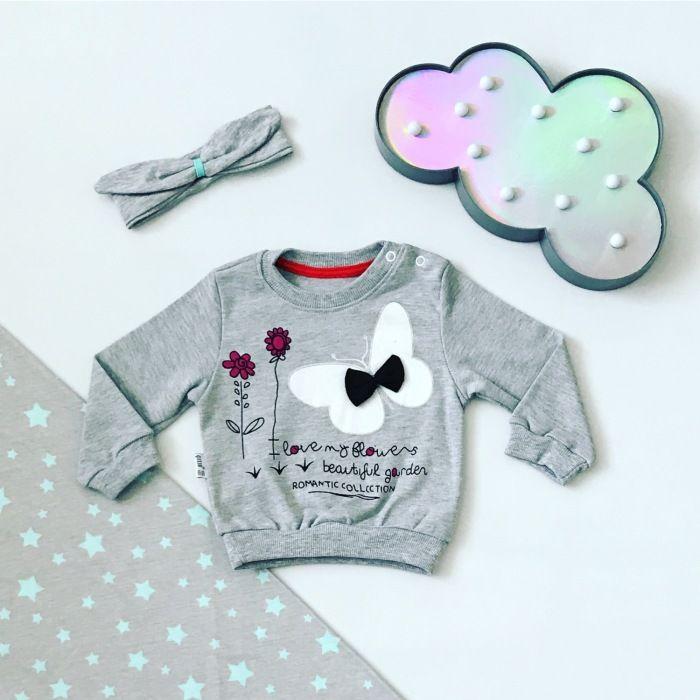 Bluza buterfly dla dziewczynki 56-92 cm