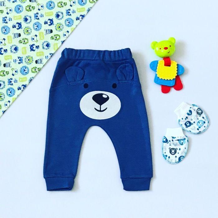 Spodnie little bear dla chłopczyka 56-92 cm