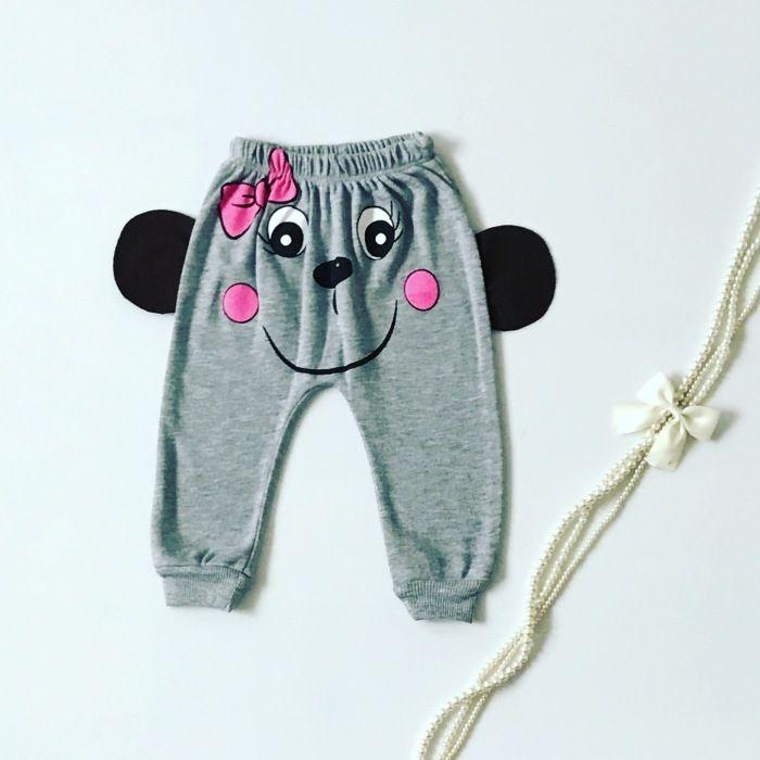 Spodnie panda dla dziewczynki 56-92 cm